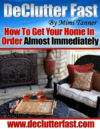 Declutter fast how to get your home in order almost immediately declutter fast book sciox Images